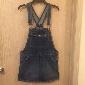 Wrangler Denim Overall Dress | Size Large | EUC